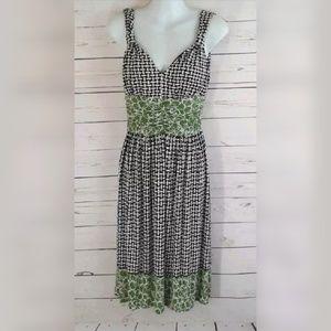 Nine West Empire Waist Sheath Dress Stretch 4 Sm